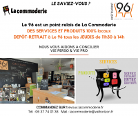 Commoderie Point relais AU 96 Post RSS MAD 20 10 2